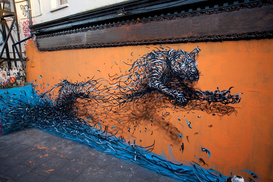 14095578848240 street art DALeast 18 Never seen before street art by Traveling Chinese Artist DALeast