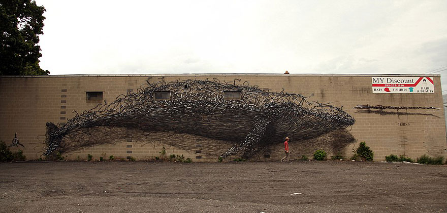 14095578954809 street art DALeast 9 Never seen before street art by Traveling Chinese Artist DALeast