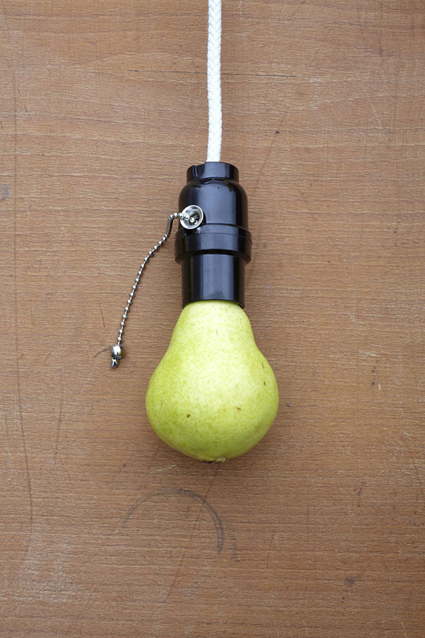 14095592154282 strange fruits sarah illenberger 3 Food Items turned into Utility objects, Creativeness at its BEST!