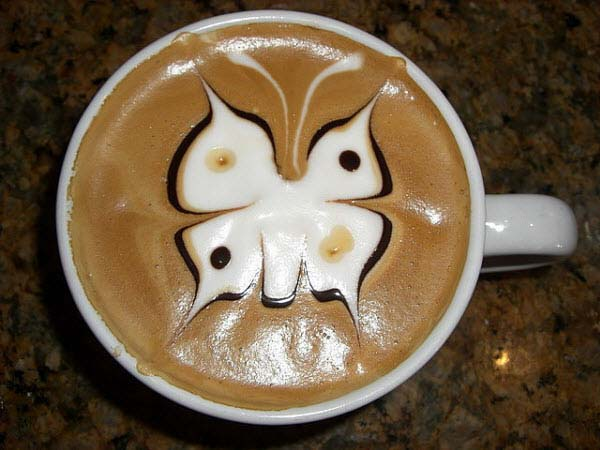 1409559276363 latte art14 These 23 Latte Images are a treat for Coffee Lovers. Warning: DO NOT DRINK!!