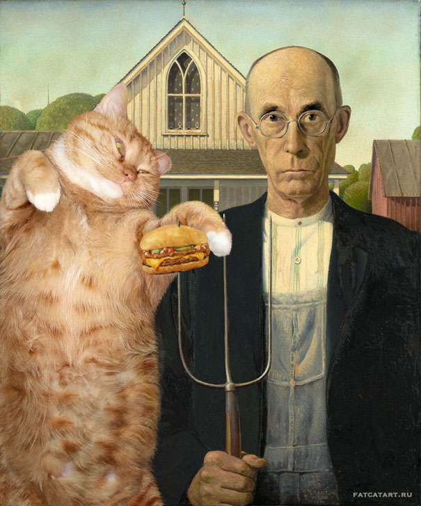 funny fat cat old paintings zarathustra svetlana petrova 13 20 Of The Most Popular Internet Cat Stars