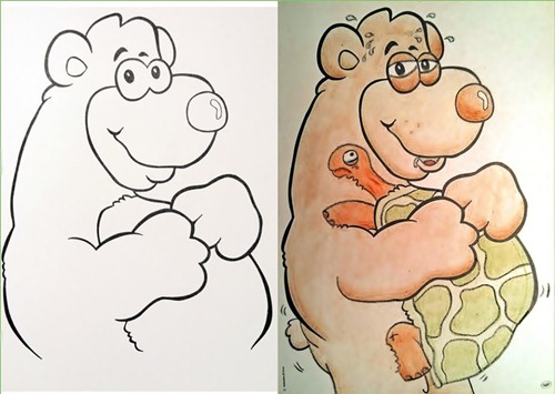 42 Slide2210 20 Hilariously Naughty Coloring Book Alterations