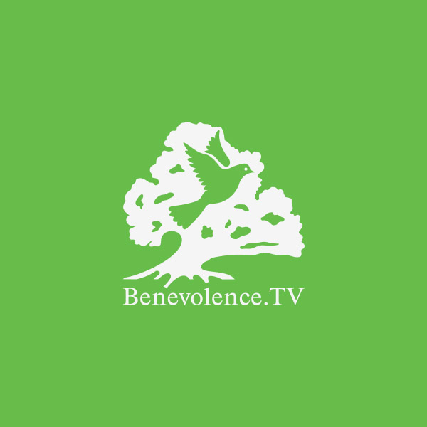 benevolence tv 30 Clever Examples of Negative Space Logos