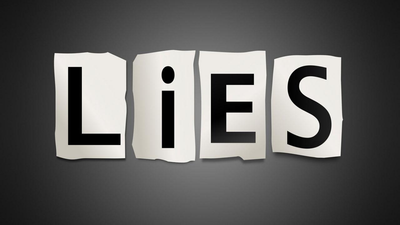Why do we lie Why do we lie?